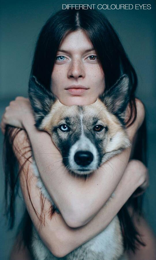 HI different coloured eyes